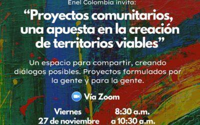 """Foro virtual: """"Proyectos comunitarios, una apuesta en la creación te territorios viables"""""""
